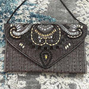 Anthropologie Boho Embellished Shoulder bag